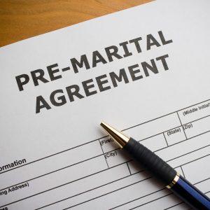 Pre Marital Agreement
